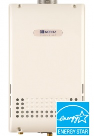 noritz hot water heating